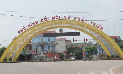 Thái Nguyên: Xây dựng huyện Phú Bình cơ bản đạt tiêu chuẩn thị xã vào năm 2025