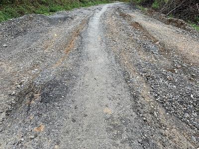 Ngọc Lặc (Thanh Hóa): Tuyến đường gần 70 tỷ đồng chưa nghiệm thu bàn giao đã hư hỏng nghiêm trọng