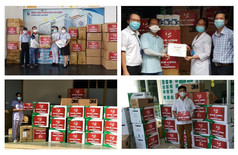 Tập đoàn Nam Long ủng hộ 12 tỷ đồng vào Quỹ vaccine phòng, chống Covid-19