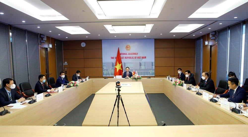 Hàn Quốc muốn nâng cấp quan hệ ngoại giao với Việt Nam