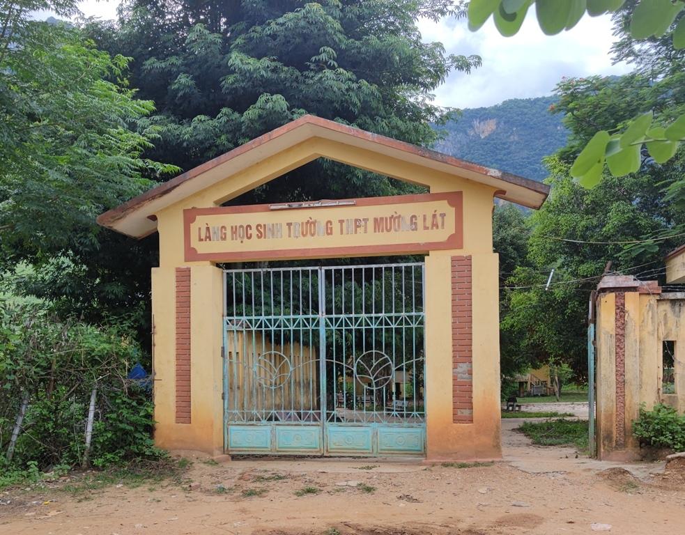 Mường Lát (Thanh Hóa): Làng học sinh trường Trung học phổ thông xuống cấp nghiêm trọng