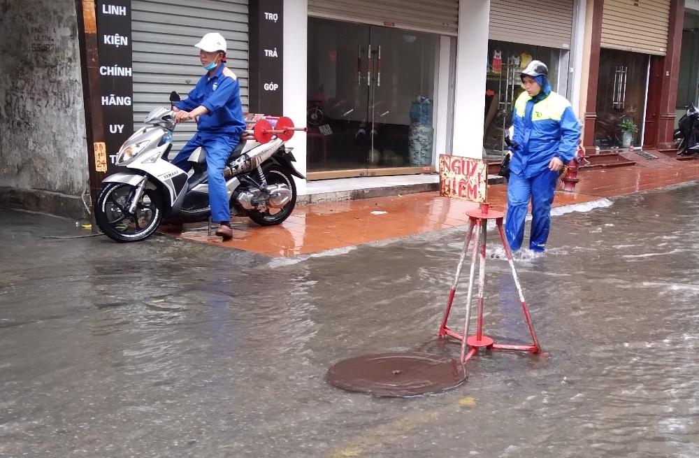 Hải Phòng: Đảm bảo thoát nước phòng, chống ngập lụt trong mùa mưa