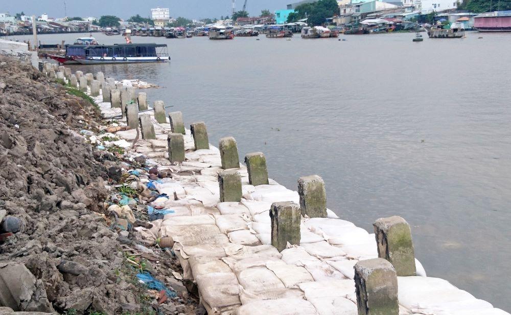 Cần Thơ: Đầu tư hơn 810 tỷ đồng xây dựng kè bờ sông