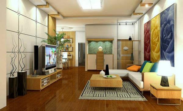 Giải pháp thiết kế nội thất trong không gian hiện đại