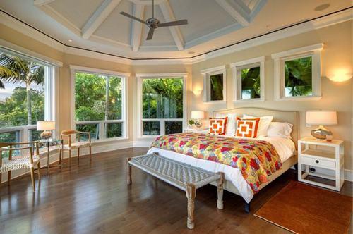 Phòng ngủ bừng sáng với những chiếc đèn xinh xắn