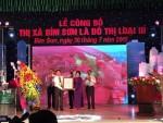 Thị xã Bỉm Sơn chính thức được công nhận là đô thị loại III
