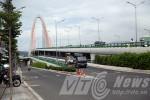 Cầu 3 tầng nghìn tỉ độc đáo ở Đà Nẵng vừa xây đã nứt