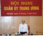 Quân ủy Trung ương thông qua Chương trình thực hiện Nghị quyết Đại hội Đảng