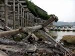 Thái Nguyên: Doanh nghiệp tự phá dỡ Bến thuyền Thiên nga tại Hồ Núi Cốc