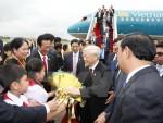 Lễ đón chính thức Tổng Bí thư Nguyễn Phú Trọng tại Campuchia