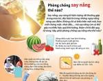 Những cách phòng chống say nắng, say nóng hiệu quả
