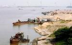 Làm rõ phản ánh tình trạng khai thác cát trái phép trên sông Hồng