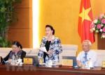 Khai mạc Phiên họp thứ 25 của Ủy ban Thường vụ Quốc hội