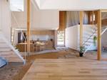 Ngôi nhà Nhật thiết kế hiện đại nhưng làm sàn đất