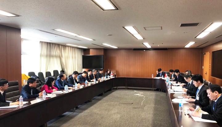 Báo cáo tình hình hợp tác song phương Việt Nam – Nhật Bản