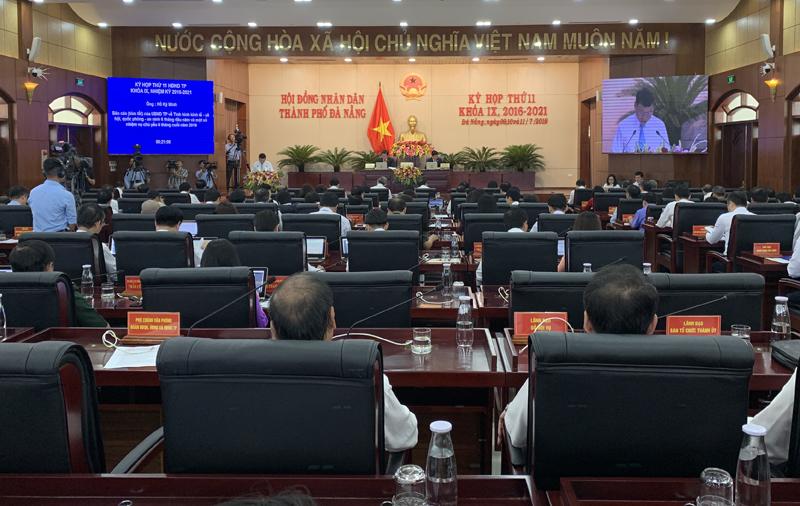 Đà Nẵng: Khai mạc kỳ họp lần thứ 11 HĐND thành phố khóa IX, nhiệm kỳ 2016 – 2021