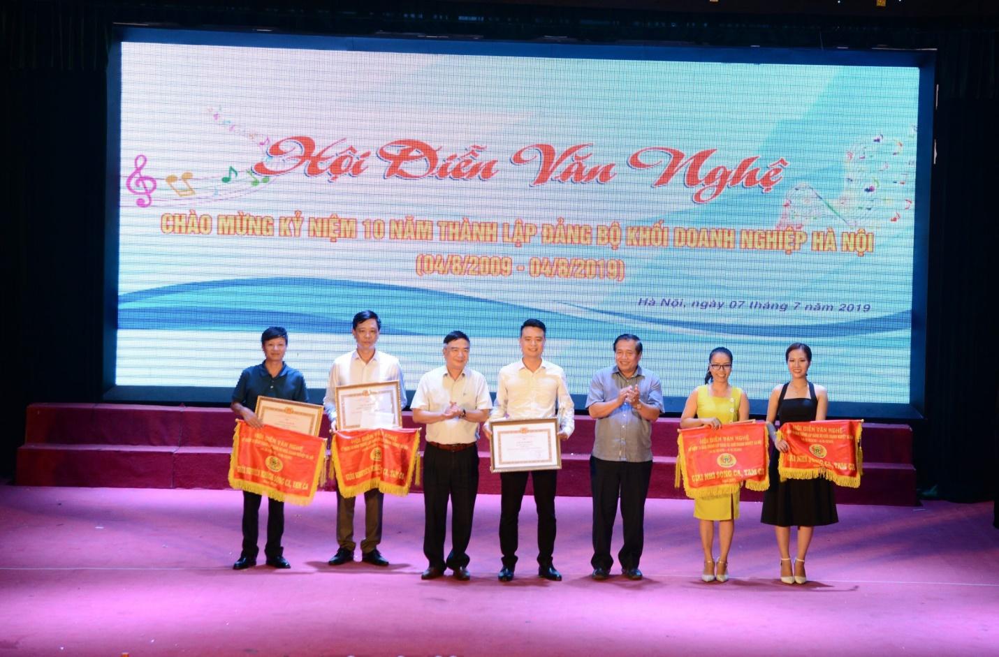 Urenco đạt giải cao trong hội diễn văn nghệ kỷ niệm 10 năm thành lập Đảng bộ Khối Doanh nghiệp Hà Nội