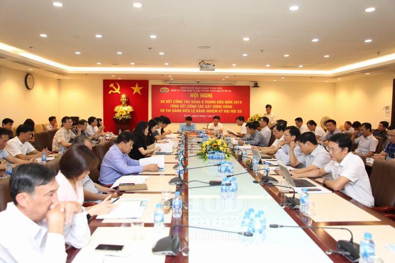 Đảng bộ Tổng Cty HUD: Nâng cao vai trò lãnh đạo của Đảng
