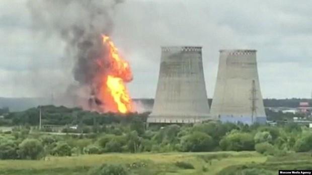 Nga: Hỏa hoạn lớn tại nhà máy điện ở ngoại ô thủ đô Moskva