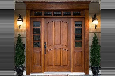 Cách chọn màu sắc cửa gỗ đẹp, ấn tượng