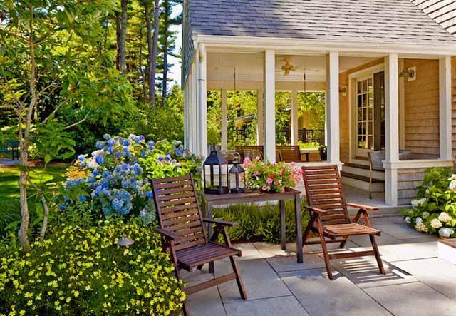 Cách bài trí cho không gian sân vườn nhỏ