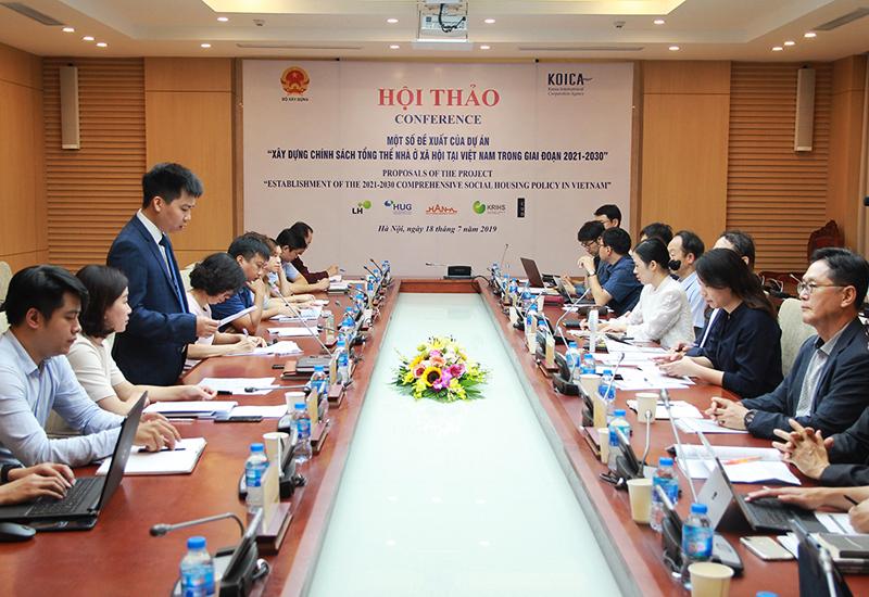 Bộ Xây dựng tham vấn ý kiến xây dựng chính sách NƠXH tại Việt Nam giai đoạn 2021 – 2030