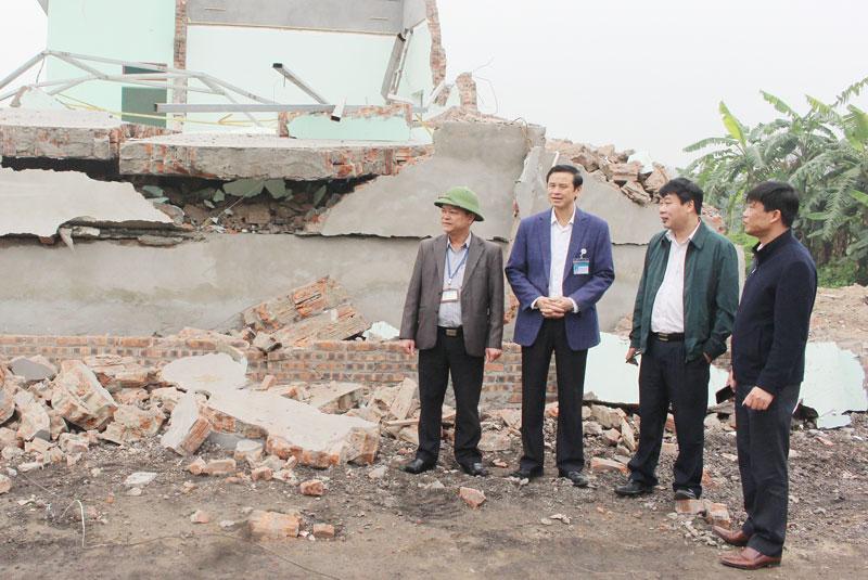 Bắc Ninh: Thực hiện tốt công tác quản lý trật tự xây dựng đô thị