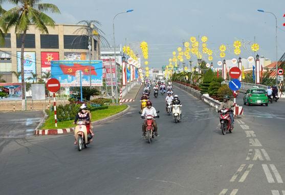 Thành phố Long Xuyên hoàn thành xây dựng nông thôn mới