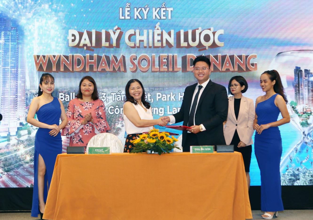 PPC An Thịnh ký kết với các đại lý để phát triển dự án Wyndham Soleil Danang