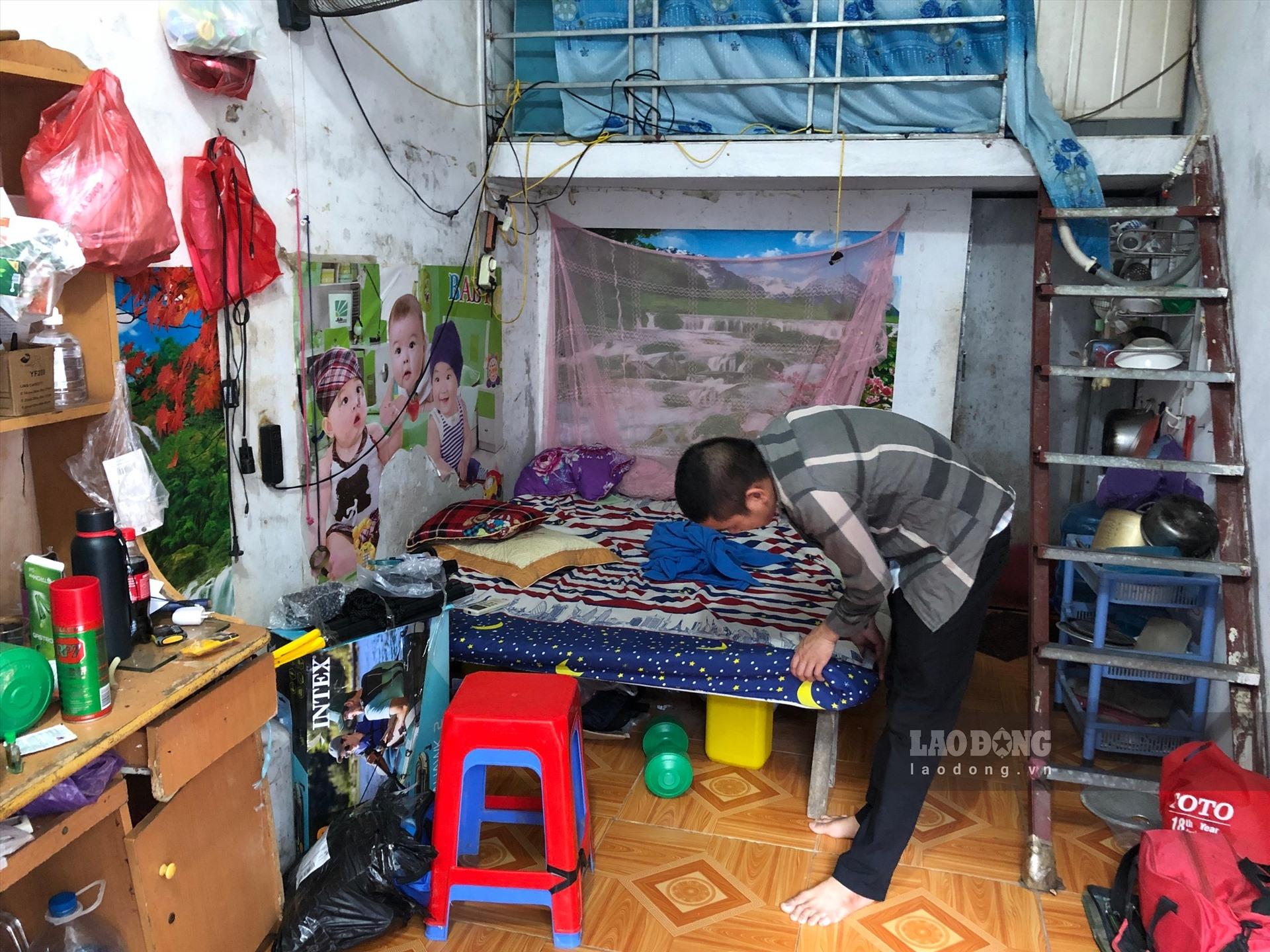 can canh noi o thieu thon va xuong cap cua cong nhan khu cong nghiep