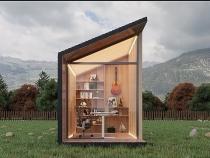 Cabin làm việc di động 6,3 m2 giá tới 14.900 USD