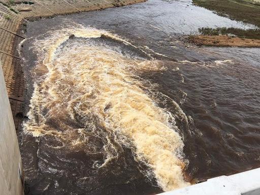 Hà Tĩnh: Nước hồ Ngàn Trươi - Cẩm Trang đổi màu là do ô nhiễm từ lòng hồ