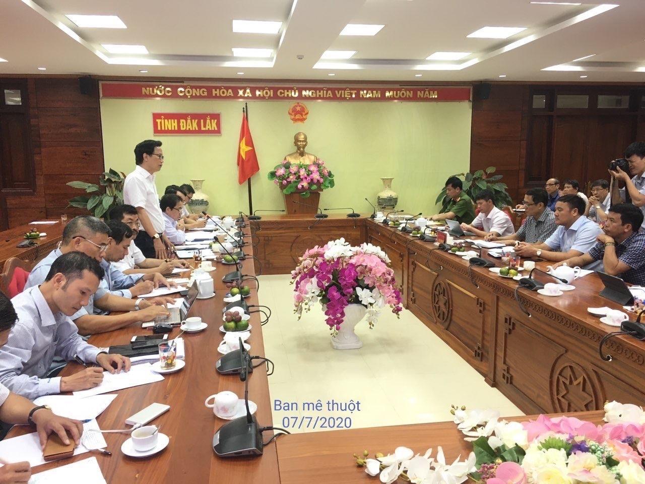 Thứ trưởng Nguyễn Đình Toàn kiểm tra trật tự xây dựng, an toàn giao thông và hạ tầng đô thị ở Tây Nguyên