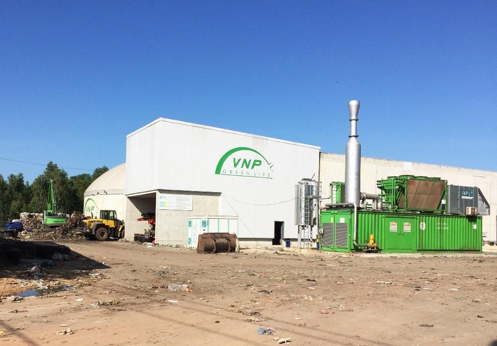 Nhà máy xử lý rác thải quy mô nhất Quảng Bình tiếp tục xảy ra sự cố