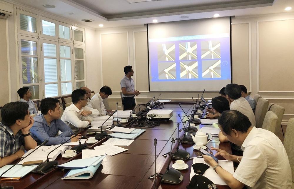 Nghiệm thu kết quả nghiên cứu giải pháp kết cấu lắp ghép sử dụng bê tông tính năng cao cho công trình xây dựng trên đảo