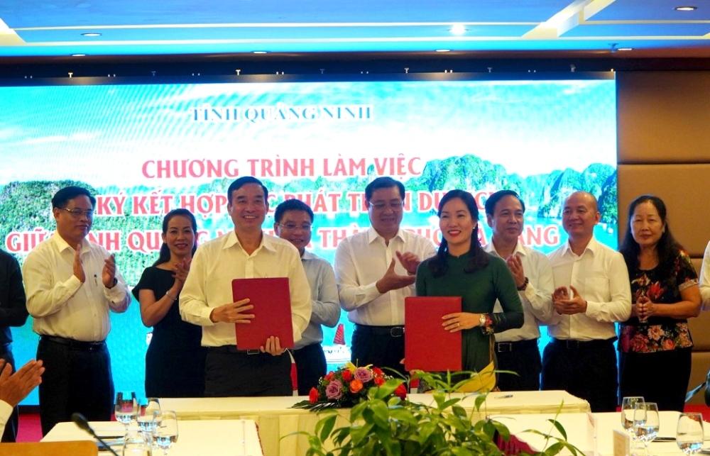 Quảng Ninh - Đà Nẵng hợp tác phát triển du lịch