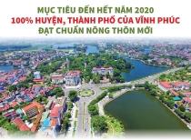 Vĩnh Phúc: Mục tiêu 100% huyện, thành phố đạt chuẩn nông thôn mới