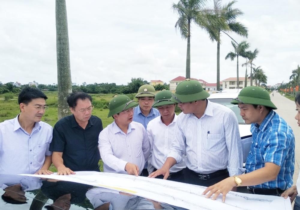 Quảng Ninh: Đẩy nhanh tiến độ giải phóng mặt bằng cao tốc Vân Đồn - Móng Cái
