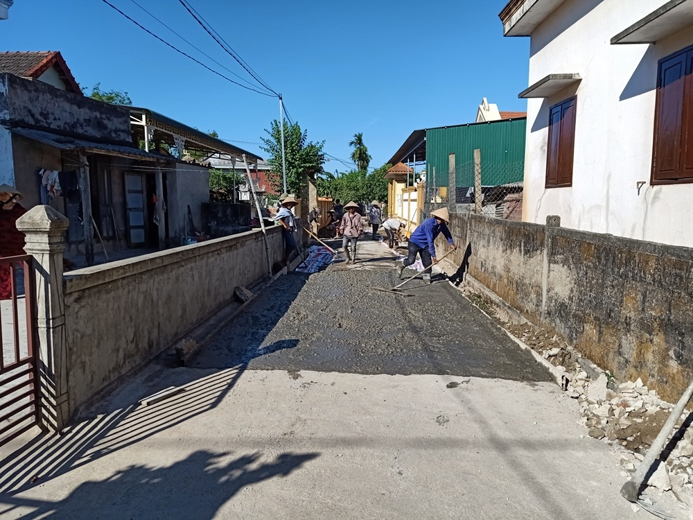 Triệu Phong (Quảng Trị): Nhiều sai sót tại các dự án xây dựng Nông thôn mới