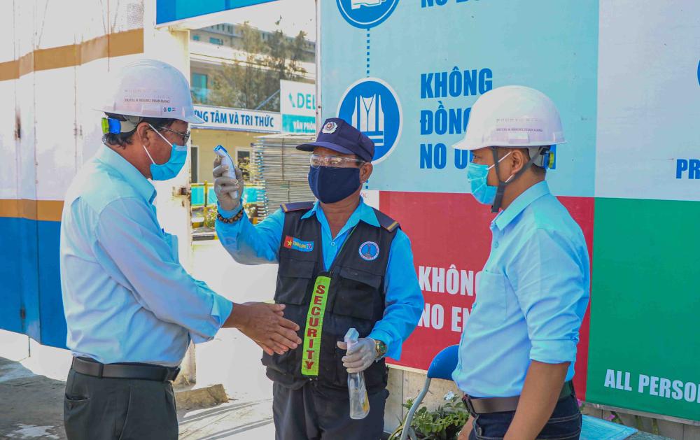 Ninh Thuận: 27/27 công trình đảm bảo công tác phòng, chống dịch Covid – 19