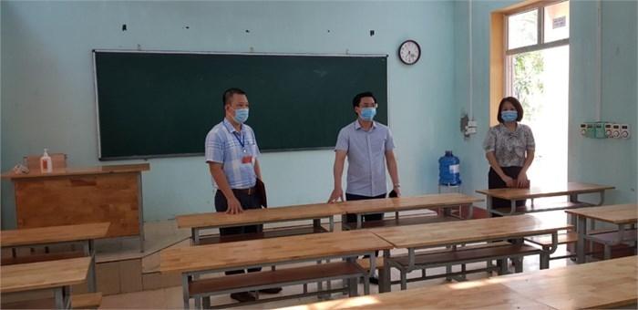 vinh phuc giam doc so giao duc va dao tao thi sat cong tac chuan bi thi tot nghiep thpt tren dia ban tinh