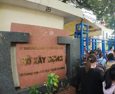 Thành phố Hồ Chí Minh chỉ đạo xử lý trách nhiệm Giám đốc Sở Xây dựng