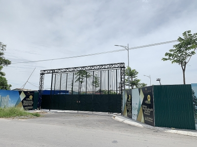 Hà Nội: UBND huyện Đông Anh phản hồi nội dung Báo điện tử Xây dựng phản ánh về việc đấu giá khu đất dự án Helianthus Center Red River