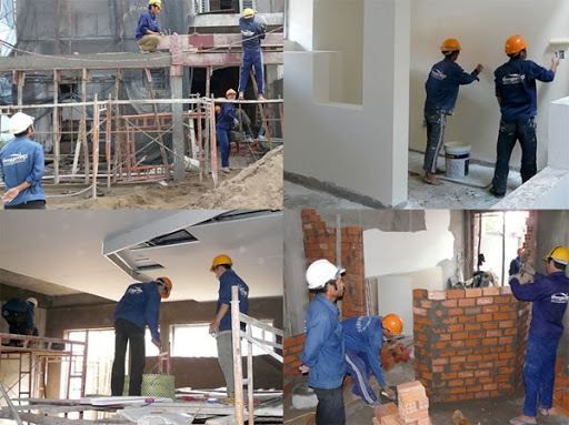 Tham gia hoàn thiện công trình không cần chứng chỉ năng lực