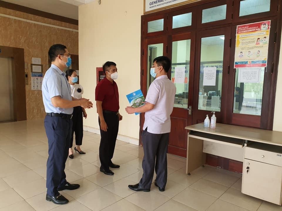 Ngành Xây dựng Bắc Ninh quyết tâm đồng hành cùng hệ thống chính trị và nhân dân phòng, chống dịch Covid-19