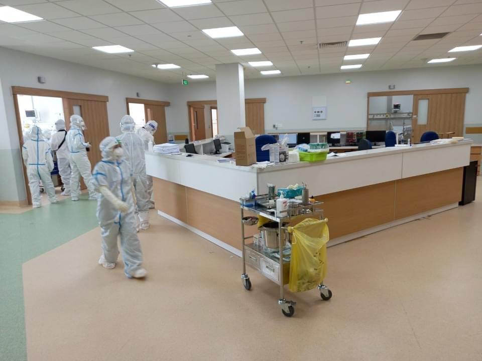Cận cảnh khu điều trị bệnh nhân nguy kịch của bệnh viện hồi sức Covid-19 quy mô lớn nhất ở Thành phố Hồ Chí Minh