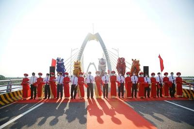 Khánh thành cầu Quang Thanh và cầu Dinh kết nối Hải Phòng - Hải Dương