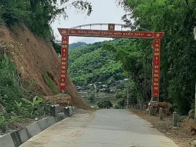 Quan Sơn (Thanh Hóa): Quyết tâm giữ vững bản Nông thôn mới kiểu mẫu ở Sa Ná