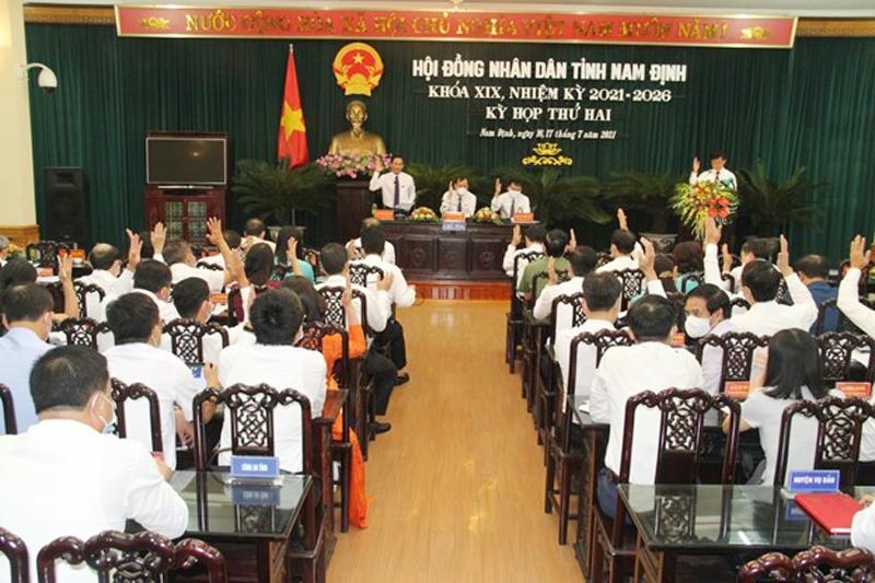 Nam Định: Kỳ họp thứ hai, HĐND tỉnh khoá XIX thành công tốt đẹp
