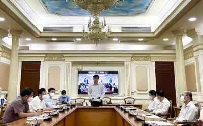 Buổi làm việc đầu tiên của Tổ công tác đặc biệt Bộ Xây dựng với 19 tỉnh thành phía Nam